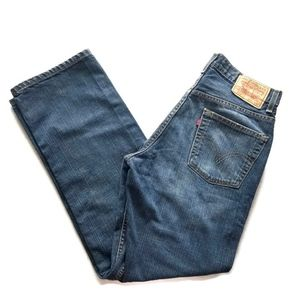 Mens Levis 559 Relaxed Straight 31 x 32 Jeans
